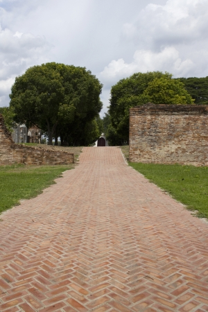 brickroad in acian castle