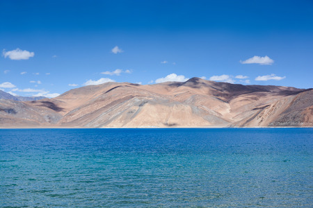 salt water: Pangong lake , the highest salt water lake in the world