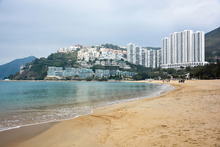 repulse: HONG KONG - JANUARY 25,2015 : Repulse bay, upmarket seaside residential in Hong Kong Editorial