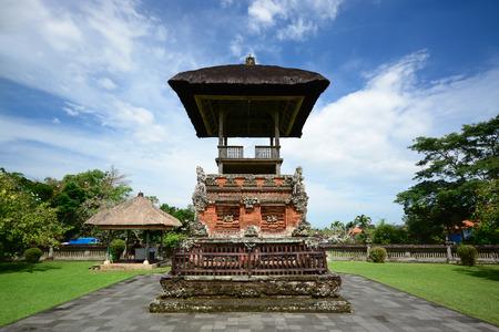 pura: Taman Ayun Temple Pura Taman Ayun in Bali Indonesia Stock Photo