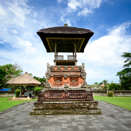 taman: Taman Ayun Temple Pura Taman Ayun in Bali Indonesia Stock Photo