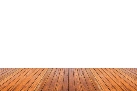 white wood floor: Wood floor texture isolated on white background for copy space