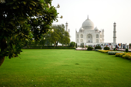 monument in india: Taj mahal A famous historical monument of India