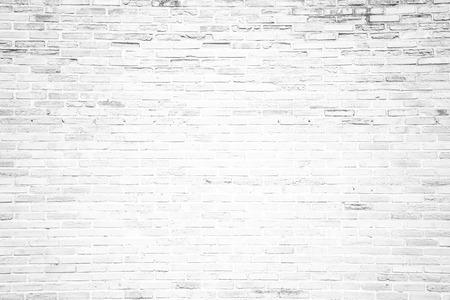 stone wall: White grunge brick wall texture or pattern for background