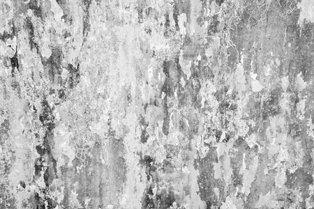 wrack: Abstract old grunge cracked gray grey concrete wall background with crack texture and weathered pattern