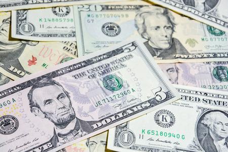American Dollar bills 版權商用圖片