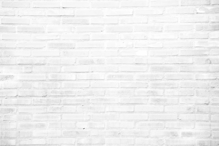 Bianco grunge muro di mattoni o un modello per lo sfondo e il materiale concetto