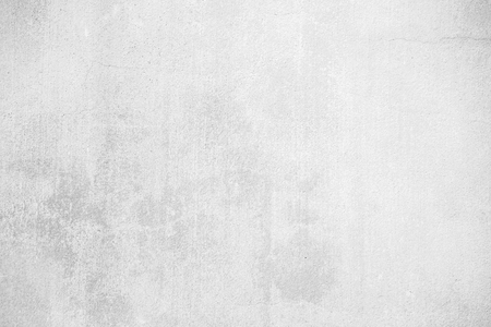 White grunge concrete wall texture background, create from plaster cement material in retro pattern for architectural decoration