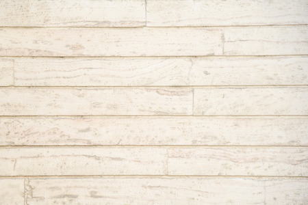 Old grunge light beige wood plank pattern with beautiful abstract grain surface, use for texture finishing, vintage background or backdrop panel Archivio Fotografico