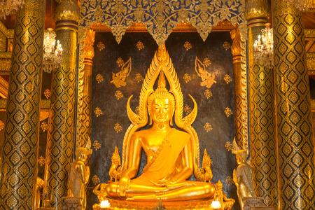pus: Tempio Watnangpaya ,, Questa s storica della Thailandia e centro il punto di Buddha Archivio Fotografico