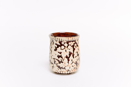 coffeecup: Vintage coffee cup, This s brown coffee cup vintage style