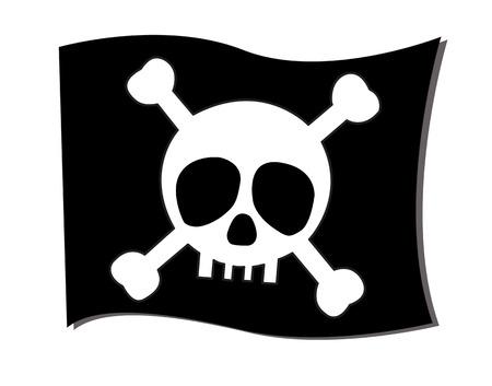 symbolism: flag crossbones symbolism of death