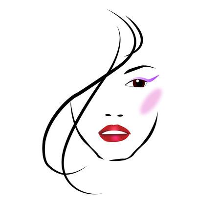 pout: Beauty salon