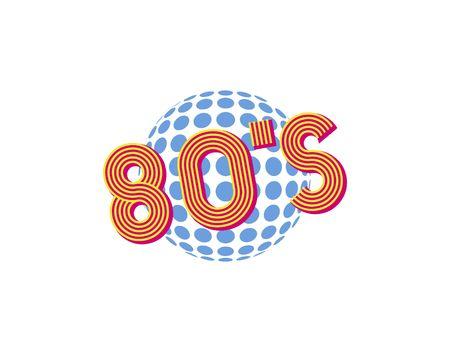 80 year old: 80 s logo