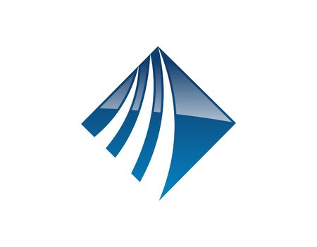 accounting logo: Corporate blue logo