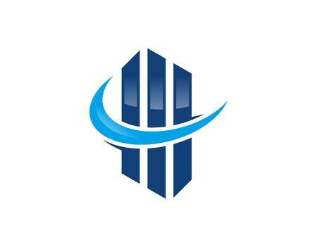 financial concept: Financial logo Illustration
