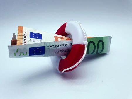 Lifebuoy for the Euro Imagens