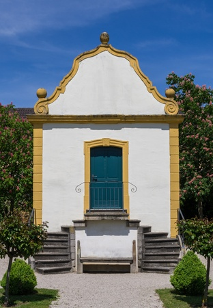 summer house: old summer house in baroque garden