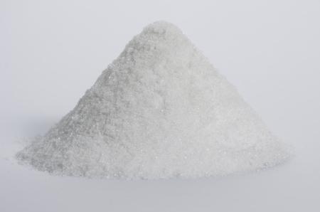white sugar pile