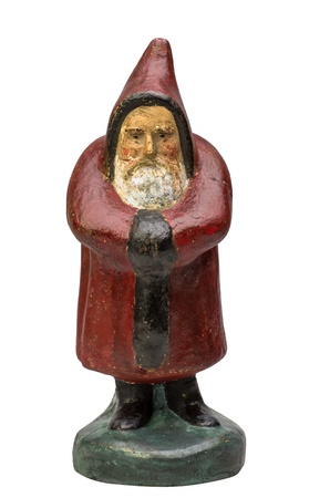 antique Santa Claus figurine photo