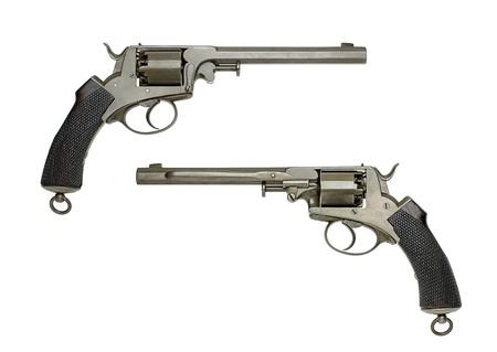 barrel pistol: antique German Navy Revolver