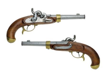 muzzleloader: Prussian antique percussion pistol