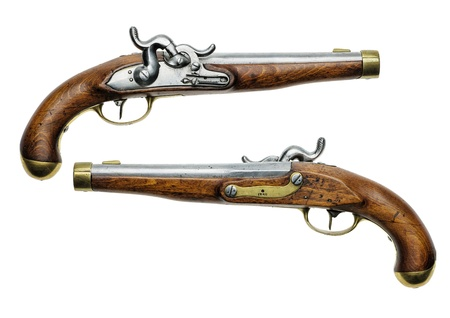muzzleloader: Prussian percussion pistol of 1832