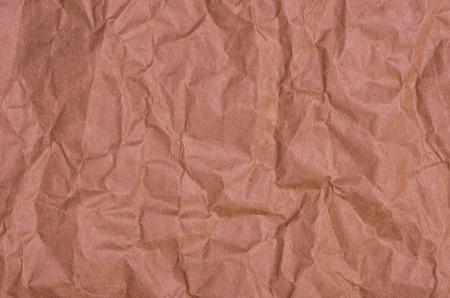 irregular: Crumpled brown paper