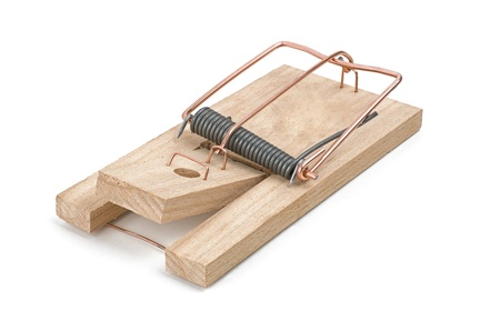 trickery: loaded mousetrap