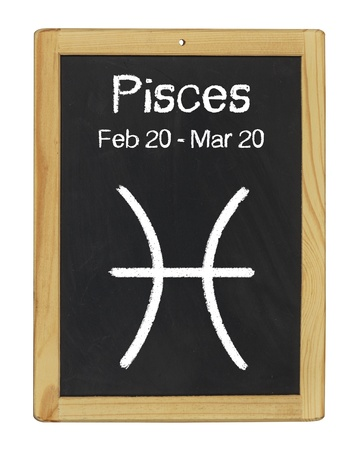 zodiac sign Pisces Stock Photo - 17754412