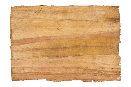 irregular: antique papyrus Stock Photo