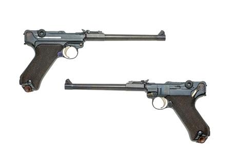 luger: german artillery luger