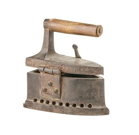 antique flat iron Stock Photo