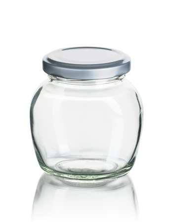 empty jam jar photo