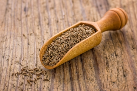 Spice scoop with cumin photo