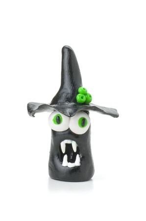 modeling clay: Handmade modeling clay vampire figure
