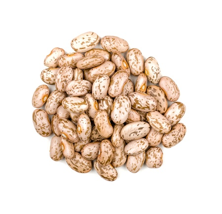 pinto: Heap of pinto beans Stock Photo