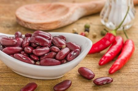 legumbres secas: Taz�n con frijoles