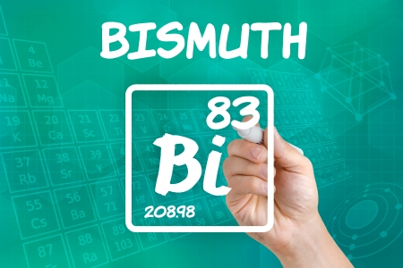 bismuth: Symbol for the chemical element bismuth