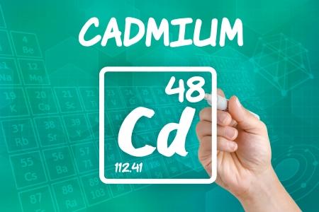 cadmium: Symbol for the chemical element cadmium