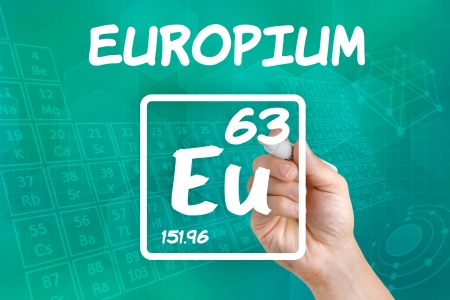 lanthanide: Symbol for the chemical element europium
