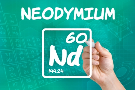lanthanide: Symbol for the chemical element neodymium