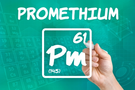 lanthanide: Symbol for the chemical element promethium