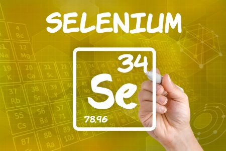 Symbol for the chemical element selenium photo