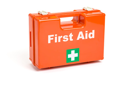 safety first: First Aid Kit  Stock Photo