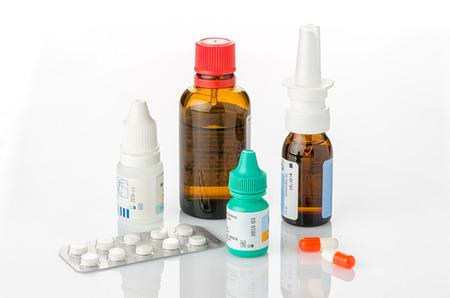 medicina: Los medicamentos para los resfriados y las alergias