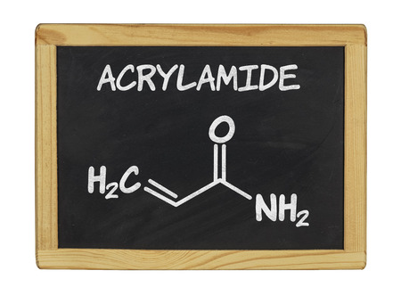 chemical formula of acrylamid on a blackboard photo
