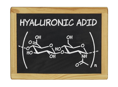 connective tissue: chemical formula of hyaluronic acid