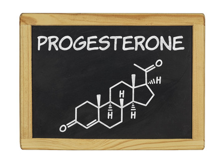 chemical formula of progesterone photo