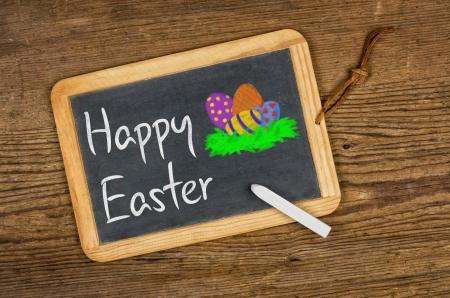 christian festival: Happy Easter Stock Photo
